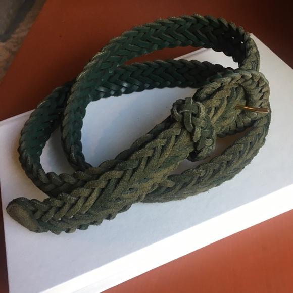 Accessories - 💰Olive Green Braided Belt